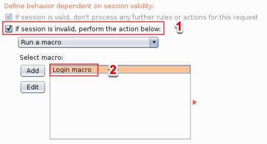 Define Macro Behavior